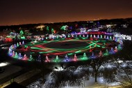 A beloved holiday tradition returns this weekend through the month of December when Brookfield Zoo, 3300 Golf Road in Brookfield, flips the switch on Holiday Magic, the festival of lights that takes place on Saturdays and Sundays, Dec. 1-2, 8-9, 15-16 and 22-23 as well as Wednesday through Monday, Dec. 26-31. | Courtesy of Chicago Zoological Society
