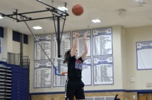 RBHS sophomore Brenna Loftus fits well in the Bulldogs' agressive offensive strategy. She can score in a variety of ways and also plays good defense. (File photo)