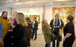 Compassion Factory Art Gallery and Studio, 9210 Broadway Ave. in Brookfield, celebrates its first birthday this month with an Anniversary Art Show from Jan. 3-26.