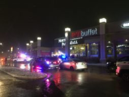 Police descended on North Riverside Park Mall on Dec. 29 after shopping center officials ordered it closed due to the presence of large groups of unaccompanied juveniles. (Photo by Bob Uphues|Staff)