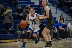 RBHS sophomore Angelina Ocampo is a key contributor for the Bulldogs. (Alexa Rogals/Staff Photographer)