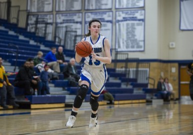 RBHS sophomore Brenna Loftus was named the MVP of the Metro Suburban Conference this season. (Alexa Rogals/Staff Photographer)