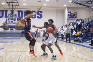 RBHS senior Charles Terry was a consistent scorer, rebounder and defender for the Bulldogs this season. His unselfish play reflected the entire starting lineup's excellent chemistry. (File photo)