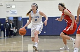 Nazareth Academy senior point guard Jovanna Martinucci directed the Roadrunners' explosive offense this season. (File photo)