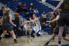 RBHS senior guard Mary Maloney emerged as a key player for the Bulldogs the past two seasons. Her ability to score but mostly pass and run the offense proved invaluable. (Alexa Rogals/Staff Photographer)
