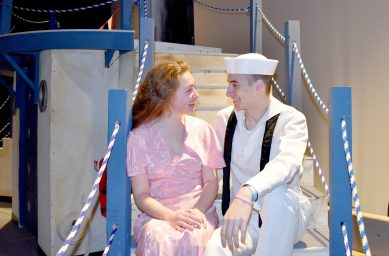"Nazareth Academy, 1209 W. Ogden Ave. in LaGrange Park, presents the 1934 madcap musical ""Anything Goes"" with music and lyrics by Cole Porter April 4-7 in the school's Romano Family Theater."