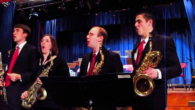 The University of Notre Dame Jazz Band 1 and New Orleans Brass Band will perform one night only at 7:30 p.m. on Friday, April 5 at the Lyons Township High School North Campus Reber Center, 100 S. Brainard Ave. in LaGrange.