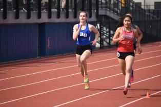 RBHS senior Nadia Kaczmarz is the Bulldogs' best runner in the mile. (Photo by John Keen)