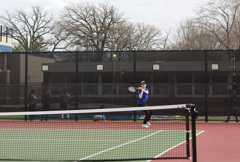RBHS senior William Dowling is the Bulldogs' No. 1 singles player. He has produced some very good results at tournaments this season. (Courtesy of Sandy Briolat)