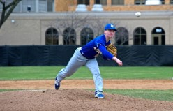 LTHS senior pitcher Grant Leader capped off a stellar preps career with the Lions this spring. The hard-throwing right-hander will pitch collegiately at Illinois. (File photo)