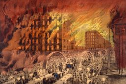 "Historian Ray Johnson presents ""Ghosts of the Great Chicago Fire"" at the Brookfield Public Library on Oct. 30."