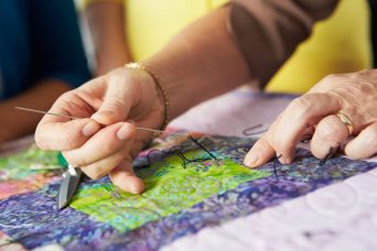 Riverside Arts Center invites you to participate in a free community project - a Community Quarantine Quilt - that allows you be creative and virtually connect with others in the community.