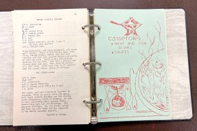 No 1950s church time capsule would be complete without a copy of a cookbook produced by the congregation's Women's Association. (PROVIDED)