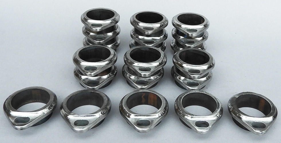 stainless collector ring trim ring