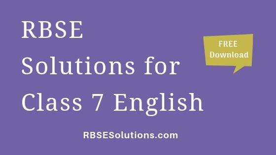 RBSE Solutions for Class 7 Social Scienceसामाजिक विज्ञान
