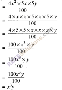 RBSE Solutions for Class 8 Maths Chapter 9 Algebraic Expressions Ex 9.1 img-1