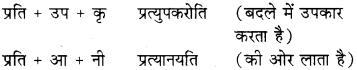 RBSE Class 8 Sanskrit व्याकरण उपसर्ग - 19