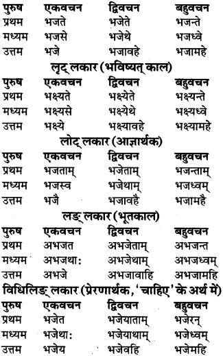 RBSE Class 9 Sanskrit व्याकरण रूप-प्रकरणम् 83