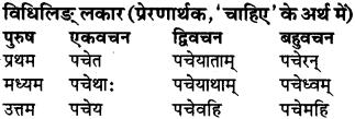 RBSE Class 9 Sanskrit व्याकरण रूप-प्रकरणम् 87