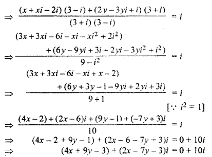 RBSE Solutions for Class 11 Maths Chapter 5 Complex Numbers Ex 5.1 13