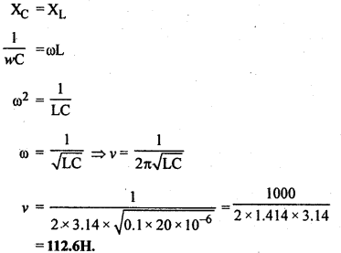 RBSE Solutions for Class 12 Physics Chapter 10 प्रत्यावर्ती धारा 10