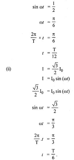 RBSE Solutions for Class 12 Physics Chapter 10 प्रत्यावर्ती धारा 2.1