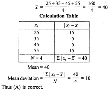 RBSE Solutions for Class 11 Maths Chapter 13 Measures of Dispersion Miscellaneous Exercise