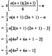 RBSE Solutions for Class 11 Maths Chapter 8 Sequence, Progression, and Series Ex 8.6