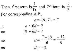 RBSE Solutions for Class 11 Maths Chapter 8 Sequence, Progression, and Series Ex 8.7