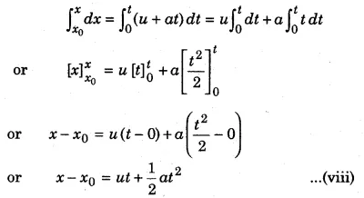RBSE Solutions for Class 11 Physics Chapter 3 Kinematics 6