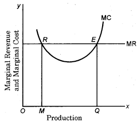RBSE Solutions for Class 12 Economics Chapter 10 Equilibrium of a Firm
