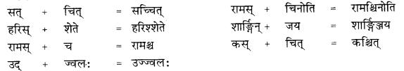 RBSE Class 10 Sanskrit व्याकरणम् सन्धिः image 11