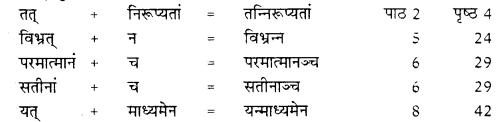 RBSE Class 10 Sanskrit व्याकरणम् सन्धिः image 16