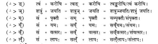 RBSE Class 10 Sanskrit व्याकरणम् सन्धिः image 18