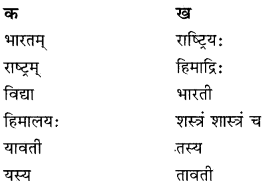 RBSE Solutions for Class 10 Sanskrit स्पन्दन Chapter 3 स्वराष्ट्र-गौरवम् image 1