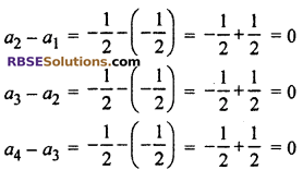 RBSE Solutions for Class 10 Maths Chapter 5 Arithmetic Progression Ex 5.1 5