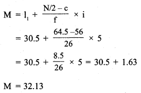 RBSE Solutions for Class 11 Economics Chapter 9 Median 8