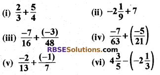 RBSE Solutions for Class 8 Maths Chapter 1 Rational Numbers Ex 1.1 7