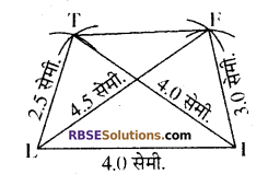 RBSE Solutions for Class 8 Maths Chapter 7 चतुर्भुज की रचना Ex 7.2 - 2