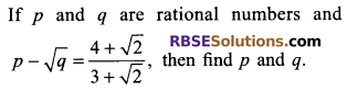 RBSE Solutions for Class 9 Maths Chapter 2 Number System Additional Questions 37