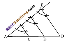 RBSE Solutions for Class 9 Maths Chapter 5 Plane Geometry and Line and Angle Ex 5.3 6