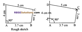 RBSE Solutions for Class 9 Maths Chapter 9 Quadrilaterals Miscellaneous Exercise 14
