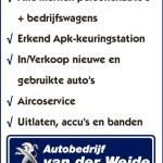 Autobedrijf van der Weide