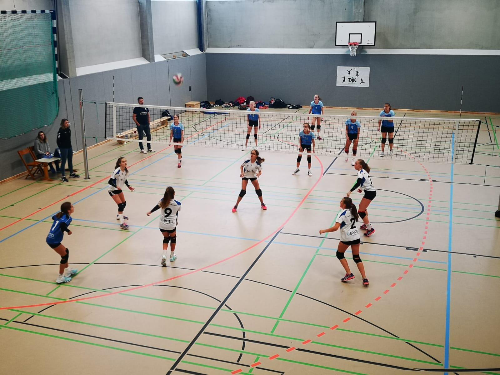 wU16 – Oberliga 5 – Starkes erstes Spiel lähmt Mädels gleiche Leistung gegen Werne abzurufen