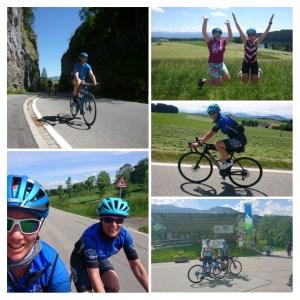 Auch wenn keine Wettkämpfe anstehen...Mechthild und Sabrina haben in 4 Tagen 366 Rennradkilometer mit guten 5500 Höhenmeter im Allgäu abgestrampelt!