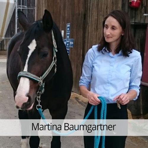 Vorstandsmitglied Martina Baumgartner