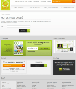 Oise.fr site Web