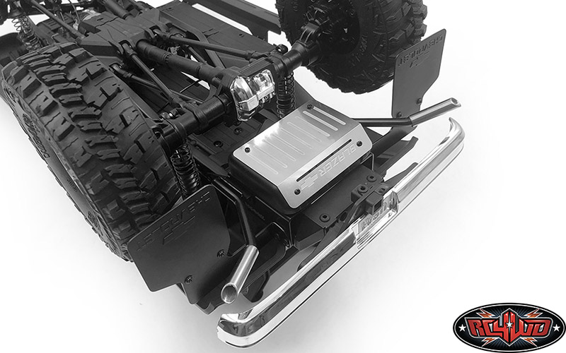 vvv c0778 dual exhaust for traxxas trx 4 chevy k5 blazer
