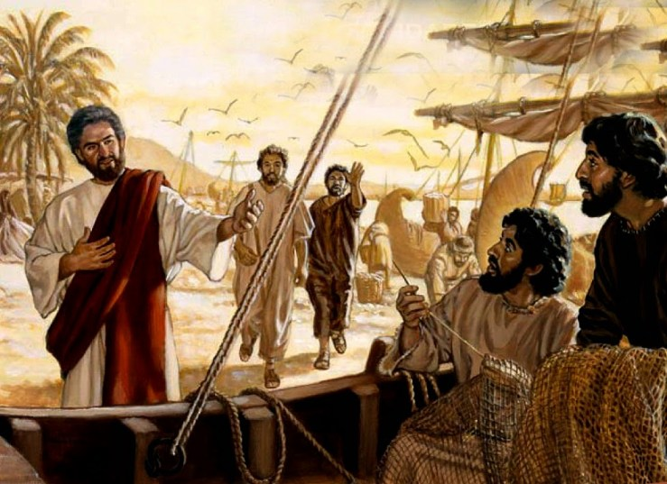 Vengan conmigo y los haré pescadores de hombres