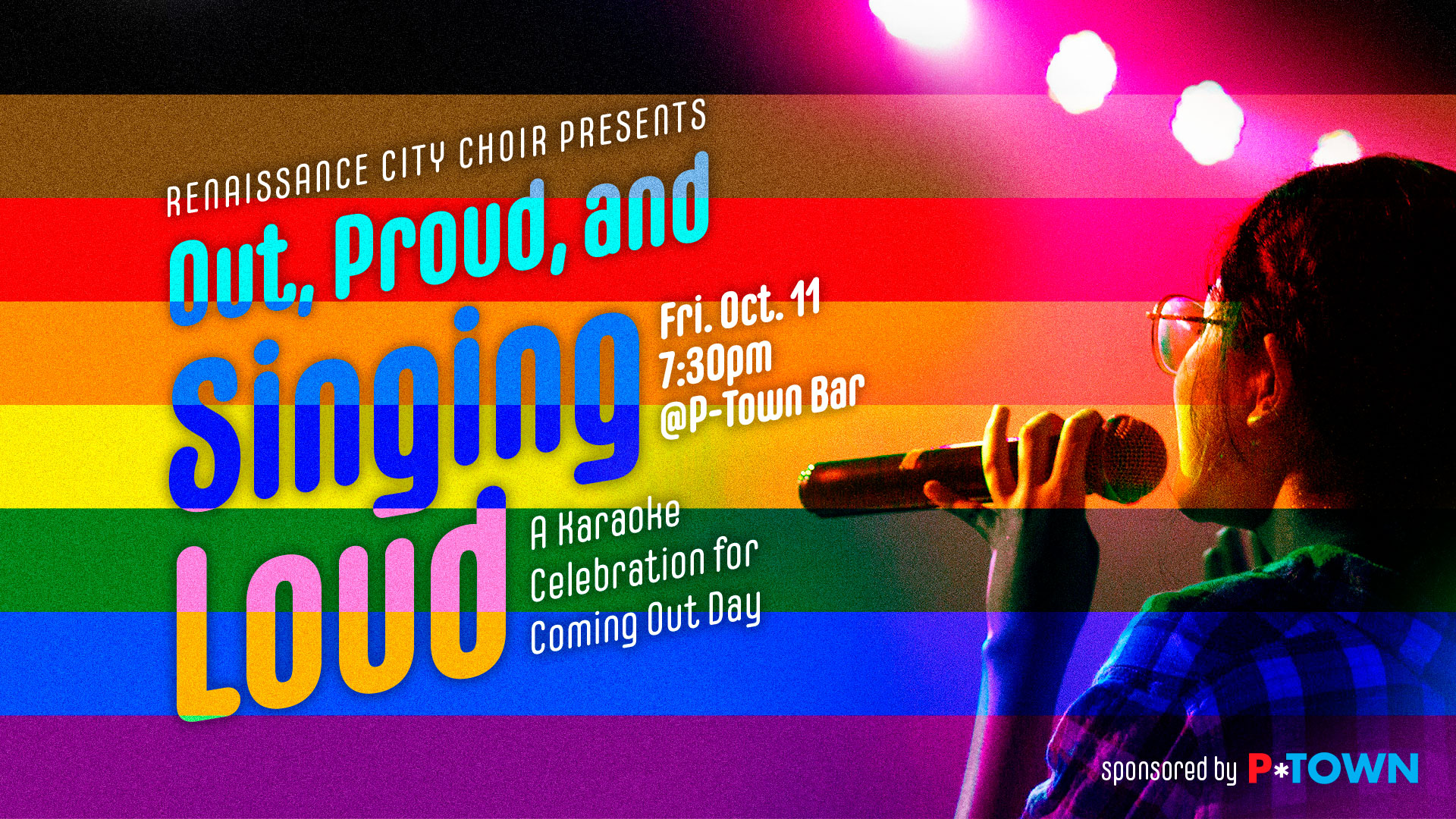 Out, Proud, and Singing Loud RCC Karaoke Party